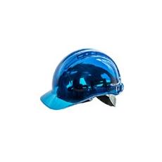 (PV54) Peak view plus védősisak átlátszó  kék