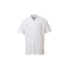 (AS21) Anti - Static ESd pólóing fehér