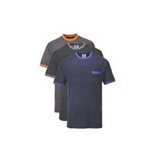 (TX22) Texo kontraszt póló sötétkék