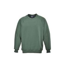 (B300) Róma pulóver üvegzöld