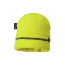 (B023) Thinsulate ® béléses kötött sapka sárga