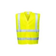 (FR71) Antisztatikus és lángálló láthatósági mellény sárga
