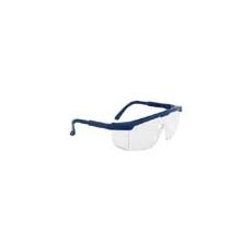 (PW33) Klasszikus védőszemüveg víztiszta kék kerettel