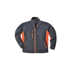 (TX40) Polár kabát szürke