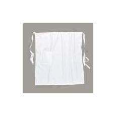 (S794) Zsebes kötény fehér