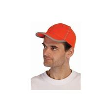 (RIOM) Fényvisszaverős sapka narancs