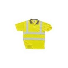 (S477) Jól láthatósági pólóing sárga