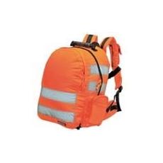 (B905) Sztenderd fényvisszaverős hátizsák narancs