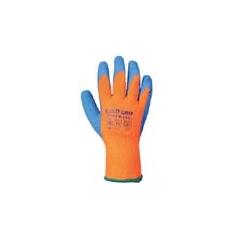 (A145) Hűtőházi kesztyű narancs színű