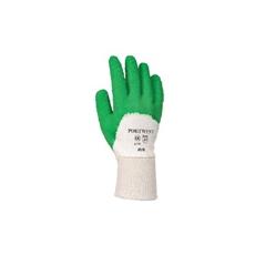 (A171) Latex mártott kesztyű nyitott kézháttal