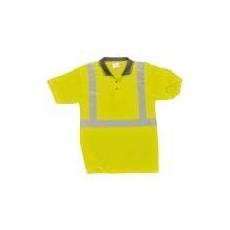 (S377) Superior HiVis pólóing sárga