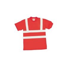 (S478) Jólláthatósági póló piros