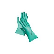 Grebe védőkesztyű nitril  33 cm zöld