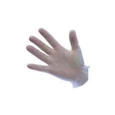 (A905) Vinyl egyszerhasználatos kesztyű, púdermentes fehér ( 100