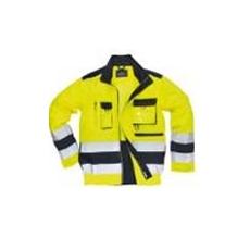 (TX50) Texo Hivis kabát sárga/sötétkék