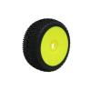 ProCircuit SWEET SHOT (soft/zöld keverék) Off-Road 1:8 Buggy gumi sárga felnire ragasztva (2 db)