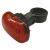 Emos LED hátsó kerékpár lámpa (3x piros LED, vízálló)