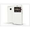 Haffner Huawei P9 S-View Flexi oldalra nyíló flipes tok - fehér