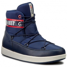 Moon Boot Hótaposó MOON BOOT - Neil Vintage 14300600001 Blu Navy/Rosso