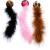 KONG Játék Kong Cat Wild Tails Labda Tollal