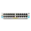 HP Hewlett Packard Enterprise 24-port 10/100/1000BASE-T PoE+ MACsec v3 zl2 Module HP 24-port 10/100/1000BASE-T PoE+ MACsec v3 zl2 Module  J9986A