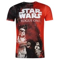Star Wars Character férfi póló piros XXL