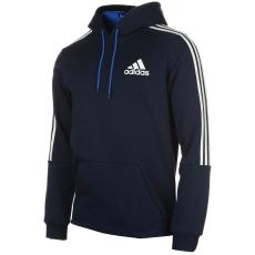 Adidas 3S Logo férfi kapucnis pulóver fehér XXL