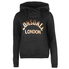 Lonsdale kapucnis női pulóver - Lonsdale Over The Head Hoody Ladies