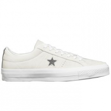 Converse One Star Ox Leather Unisex tornacipő, Thunder/White, 45 (153991C-022-11)