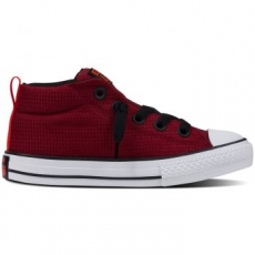 Converse Chuck Taylor All Star Street Mid gyerek tornacipő, Red Block/Black, 30 (654254C-607-12.5)