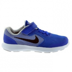 Nike Revolution 3 Gyerek sportcipő, Game Royal/Black, 27.5 (819414-402-10.5c)