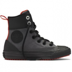 Converse Chuck Taylor All Star Asphalt Boot Hi Leather Gyerek Tornacipő, Thunder/Red, 30 (654314C-031-12.5)