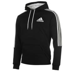 Adidas 3S Logo férfi kapucnis pulóver fekete L