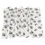 zooplus Exclusive Pawty polár takaró - sötétszürke: H 150 x Sz 100 cm