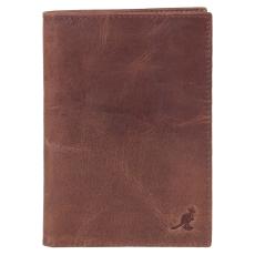 Kangol Oxford Gift Set bőr pénztárca barna