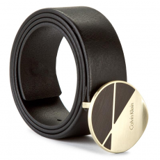 Calvin Klein Black Label Női öv CALVIN KLEIN BLACK LABEL - Juli3t Round Plaque Belt K60K602562 80 001
