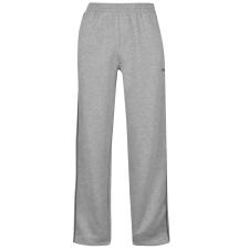 Slazenger Open Hem férfi egyenes szárú melegítő nadrág szürke 3XL férfi edzőruha