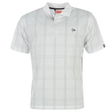 Dunlop Check Golf férfi galléros póló fehér 3XL