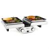 oneConcept oneConcept Butterfly, multifunkciós grillsütő, asztali grillsütő, elektromos, 1200 W, 240 °C, időzítő
