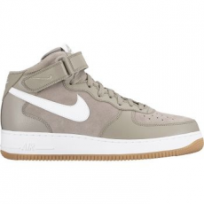 Nike Air Force 1 Mid '07 férfi sportcipő, Light Taupe/White, 45 (315123-204-11)