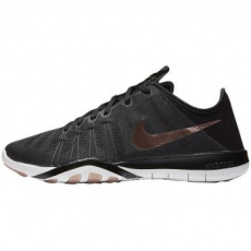 Nike Free TR 6 női sportcipő, Black Metallic/Red Bronze, 38 (833413-005-7)