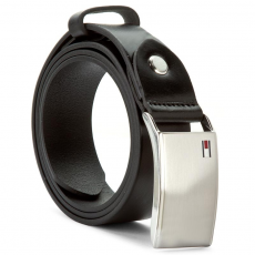 Tommy Hilfiger Férfi öv TOMMY HILFIGER - Th Plaque Belt 3.5 Adj AM0AM01995 90 002