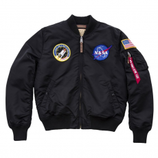Alpha Industries MA-1 VF NASA - fekete