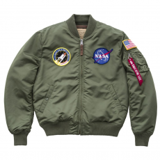 Alpha Industries MA-1 VF NASA - sage green