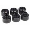 Alphacool Eiszapfen 16mm HardTube szorítógyűrűs csatlakozó G1/4 - Deep Black Sixpack /17379/