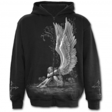 Spiral Direct, Anglia Enslaved Angel - Full Zip Hoody, férfi pulóver