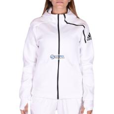 Adidas PERFORMANCE Kamasz lány Végigzippes pulóver YG AA ZNE FZ HD WHITE/BLACK
