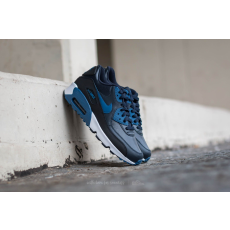 Nike Air Max 90 Leather (GS) Dark Obsidian/ Court Blue-Black-White