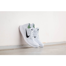 Nike Wmns Free Runner Flyknit White/ Black-Pure Platinum