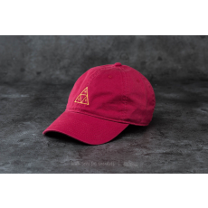 HUF Apparel Triple Triangle Curved Brim Cap Cardinal